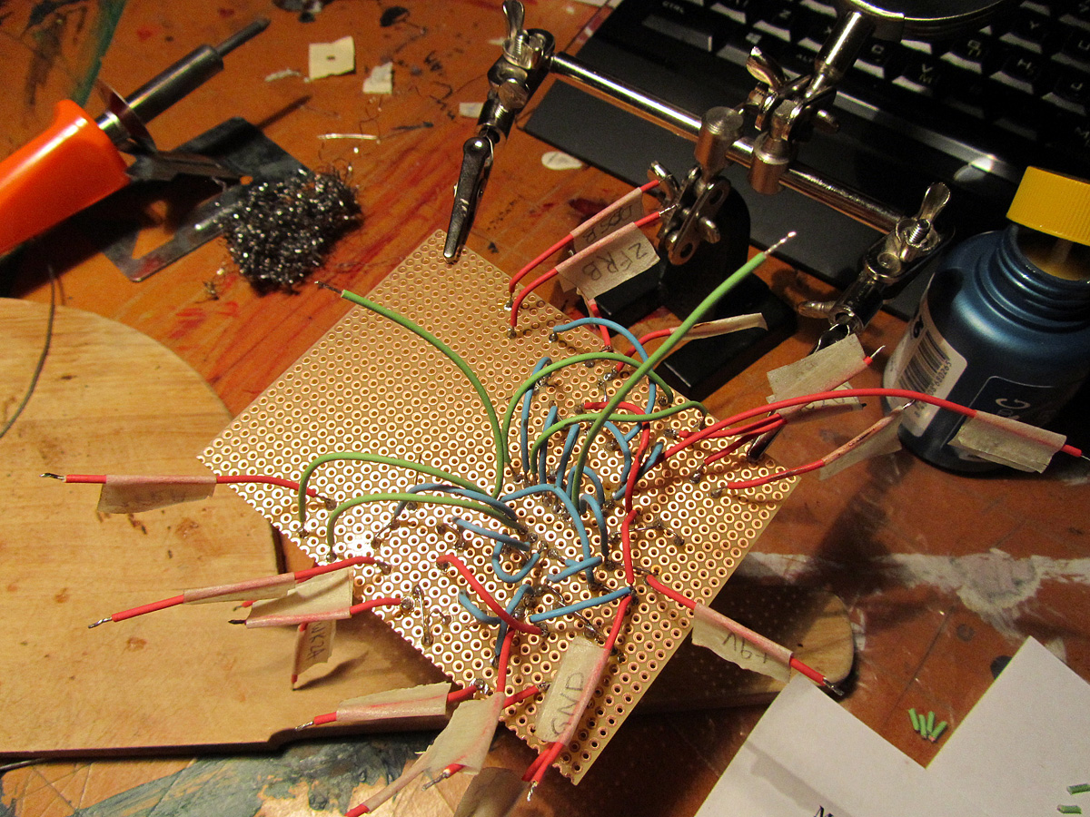 Making Of Diy Synth Weird Sound Generator Effects Circuit Mfos Wsg