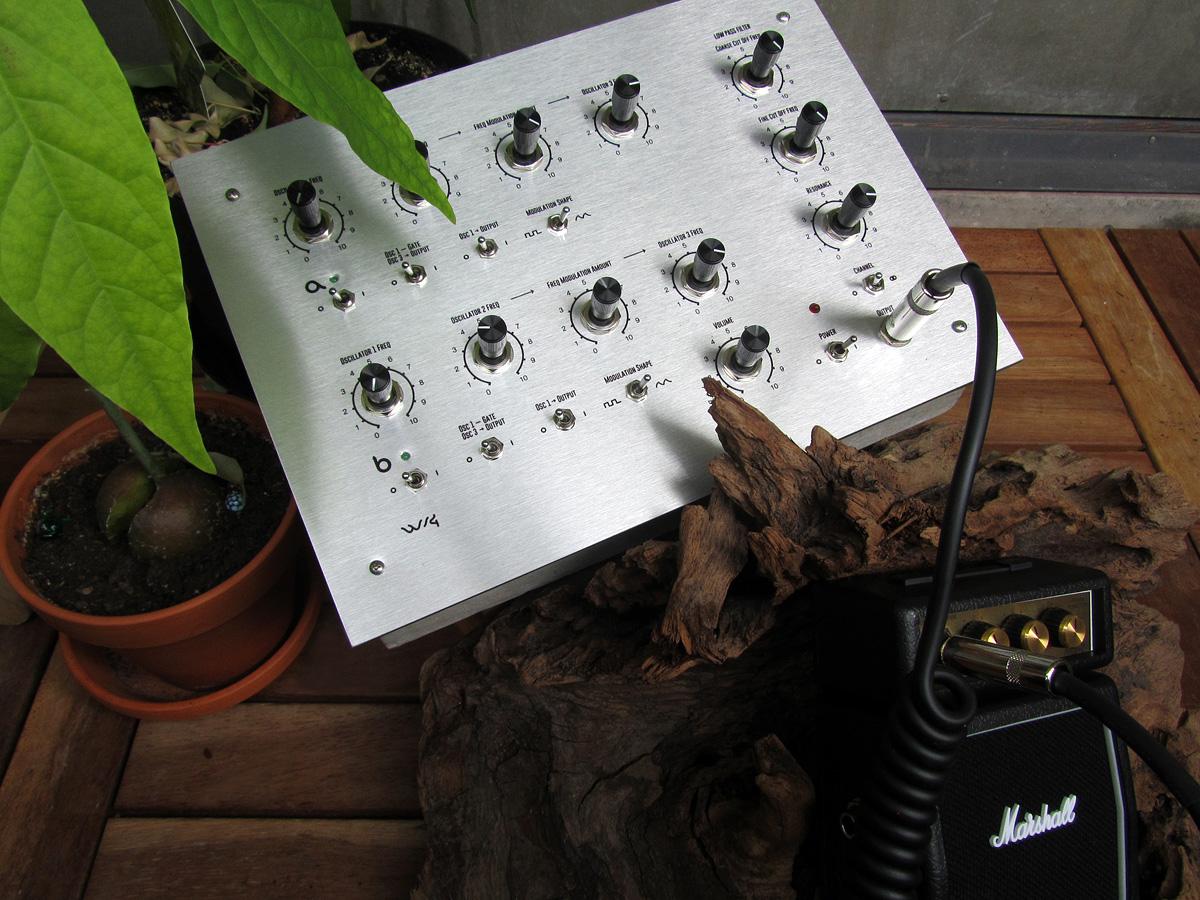 Making of DIY synth Weird Sound Generator
